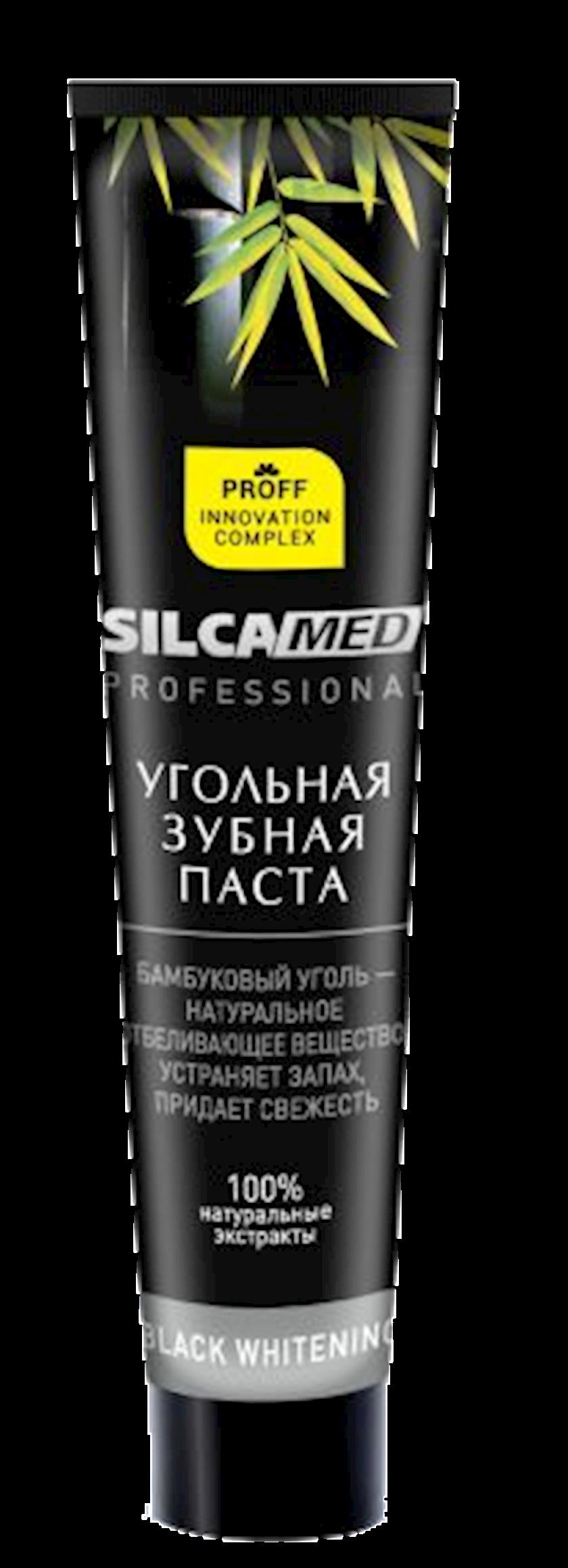 Diş məcunu Silca Med Professional Black Whitening Kömürlü 75 ml