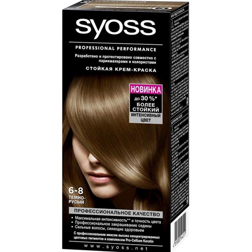 Saç boyası Syoss 6-8 Tünd xurmayı
