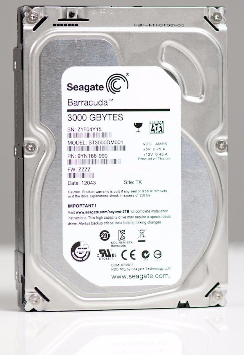 Sərt HDD disk Seagate Barracuda ST3000DM001 3 TB