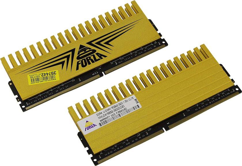 Operativ yaddaş Neo Forza FinLay 16 GB CL16 2 ədəd