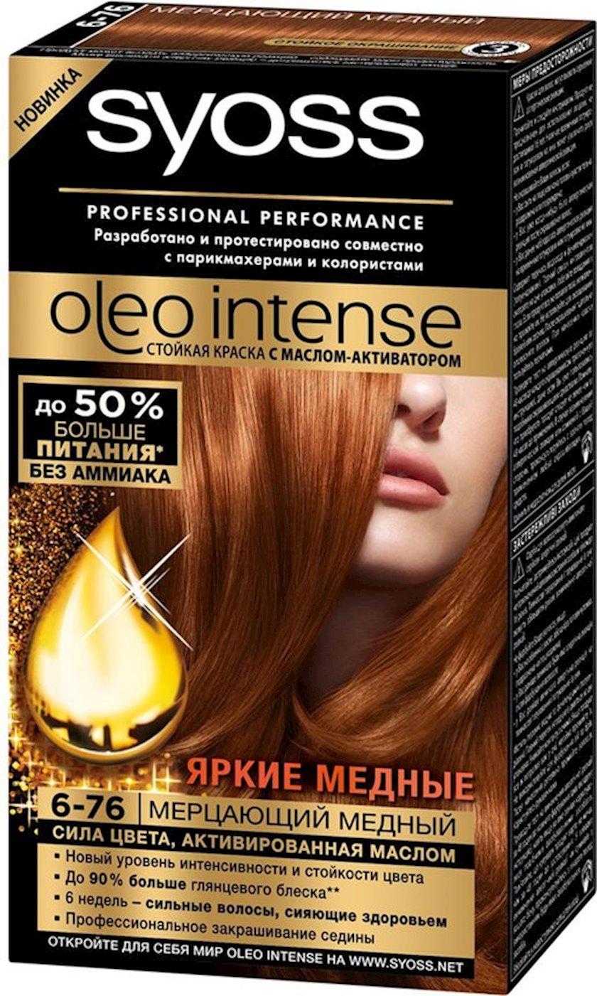Saç boyası Syoss Oleo İntense ammonyaksız 6-76 Parıldayan mis