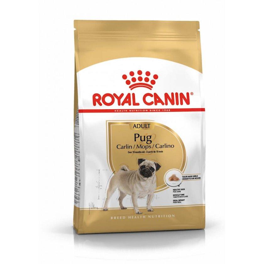 Quru yem Royal Canin Pug Adult, mops cinsli 10 aydan yuxarı itlər üçün, 1.5 kq