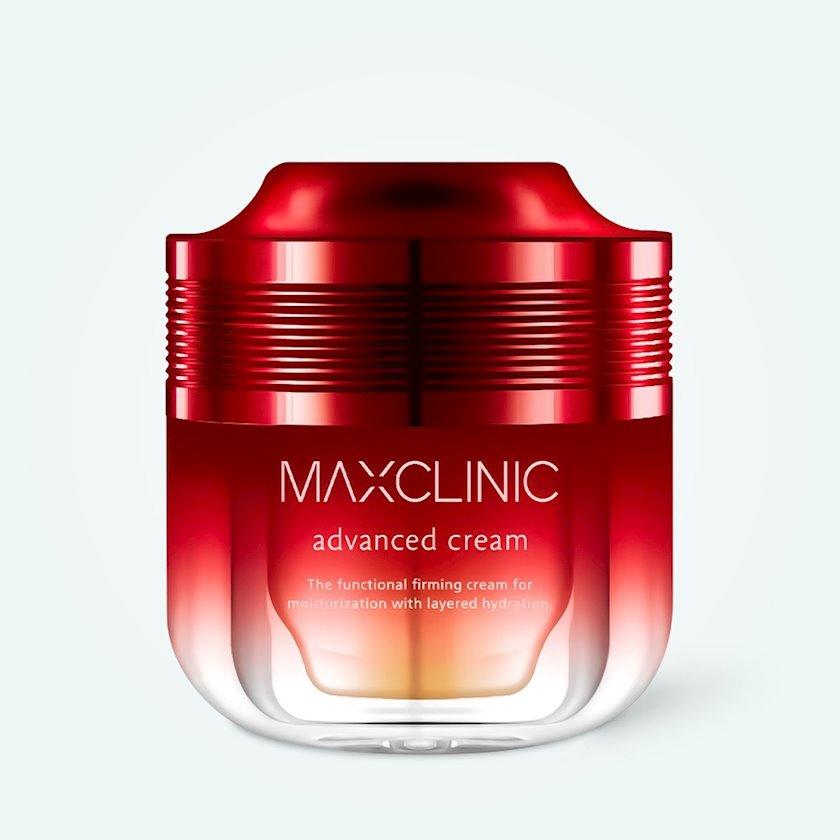 İntensiv nəmləndirici yaşlanma əleyhinə üz üçün krem Maxclinic Advanced Cream 50 ml