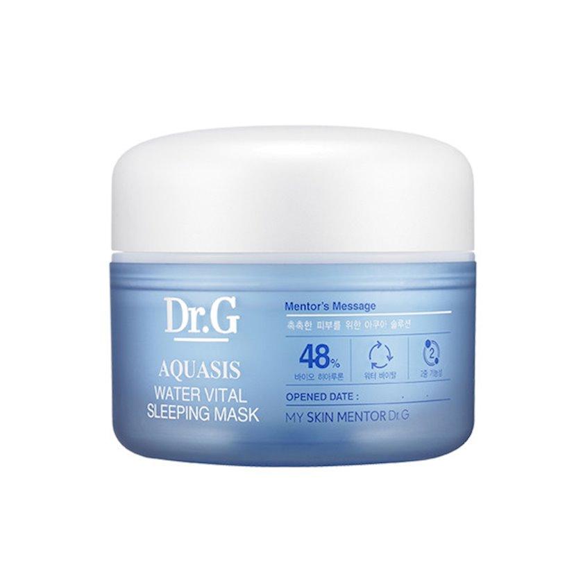 Nəmləndirici gecə üz maskası hialuron turşusu ilə Dr.G Aquasis Water Vital Sleeping Mask 80 ml
