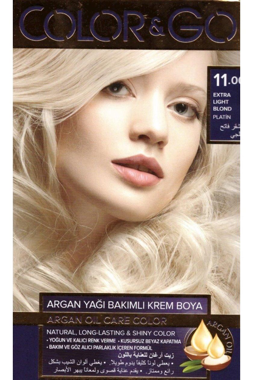 Saç boyası Color&Go 11.0