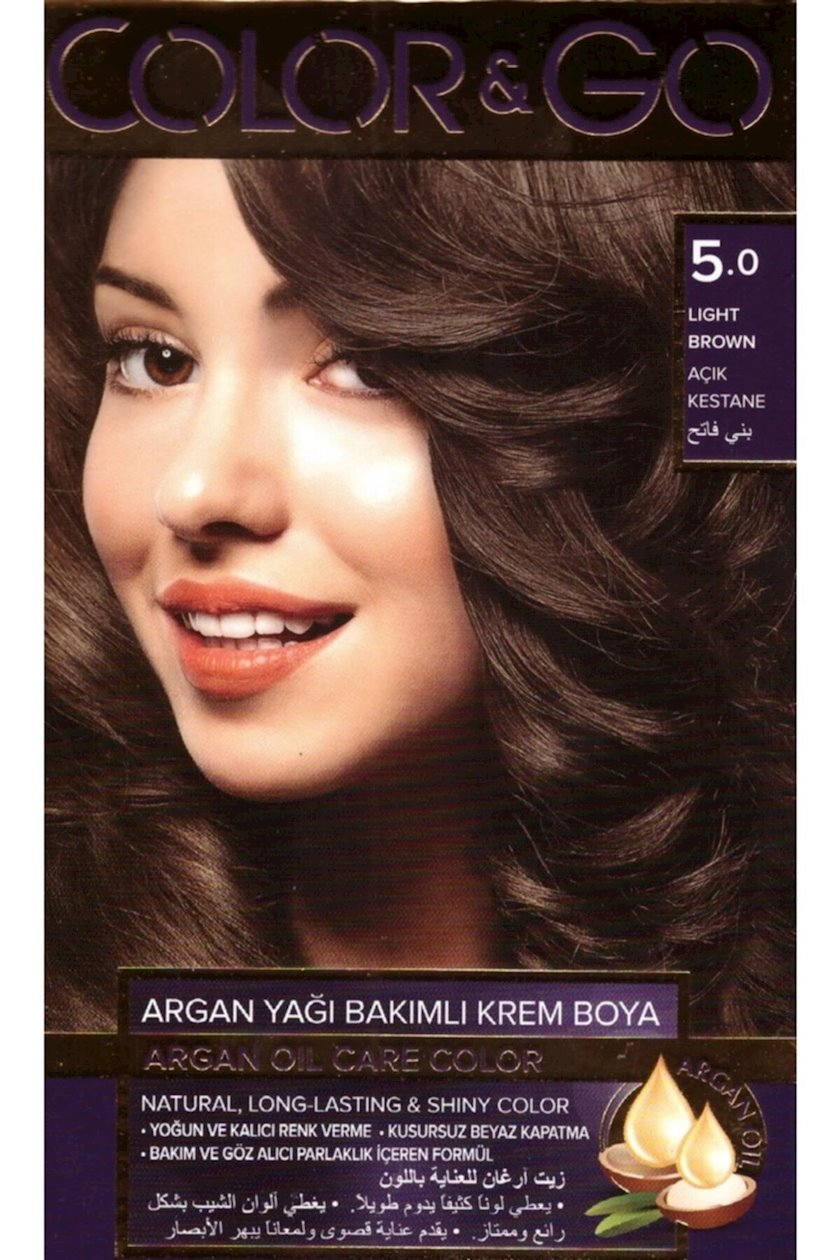 Saç boyası Color&Go 5.0