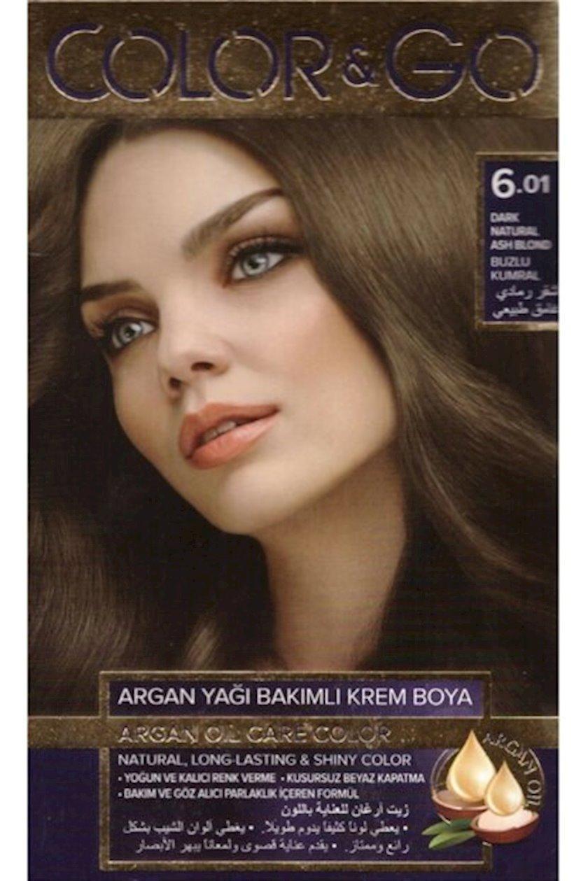 Saç boyası Color&Go 6.01