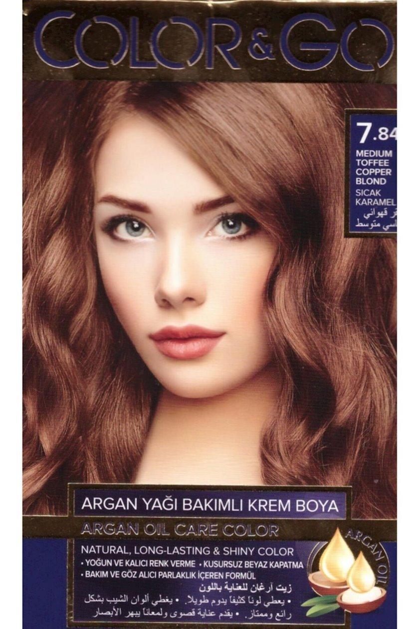 Saç boyası Color&Go 7.84