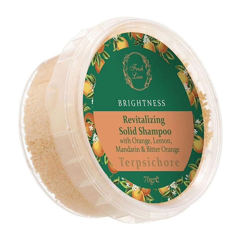 "Bərk şampun Freshline Botanical Hair Remedies Dull ""Терпсихора"" , 70 q (300 ml)"