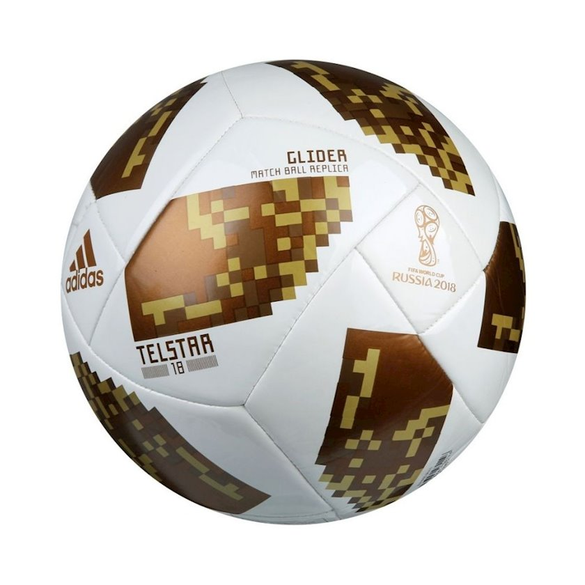 Futbol topu Аdidas World Cup 2018 Telstar Glider Gold CE8099, ölçü 5