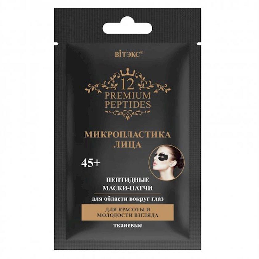 Parça patç gözaltı üçün Витэкс 12 Premium Peptides Üzün Mikroplastikası 2 əd