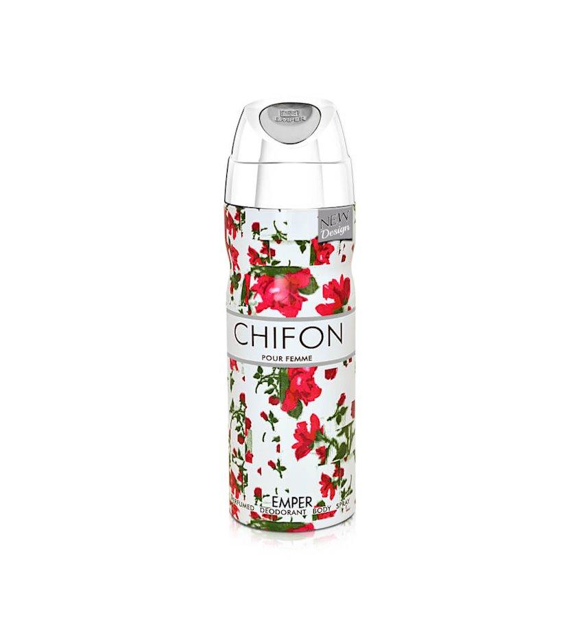 Qadın üçün dezodorant Emper Chifon Pour Femme Deodorant Spray 200 ml